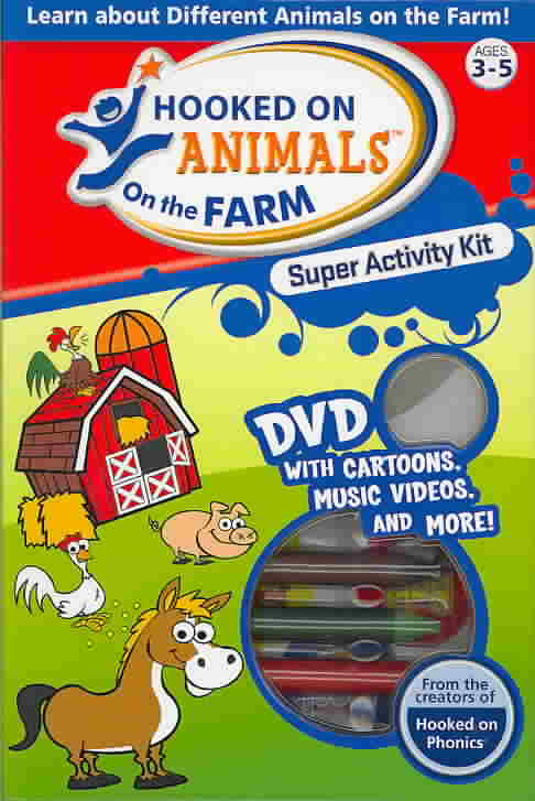 HOOKED ON ANIMALS ON THE FARM SUPER A (DVD)